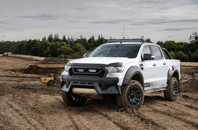 2016 Ford Ranger M-Sport 3.2 TDCi 4x4 twofold taxi