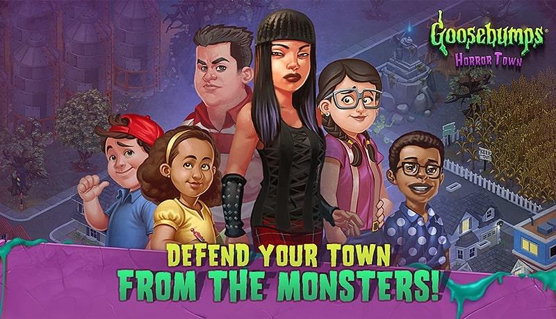 تحميل لعبة الرعب Goosebumps HorrorTown للاندرويد