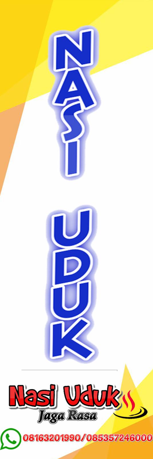 Spanduk Nasi Uduk : spanduk, Contoh, Desain, Banner