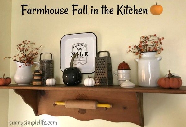 country kitchen, Halloween decor