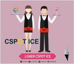 Lowongan Kerja Waiter dan Pramusaji Cspot Ice