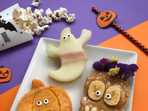 Fiesta de Halloween: comida sana para los niños