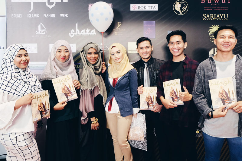 Brunei Islamic Fashion Week ladies and men