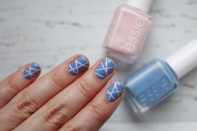 Rose Quartz and Serenity Nailart
