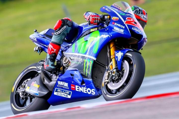 MotoGP 2017 : Vinales jadi yang tercepat di FP1 sirkuit Amerika