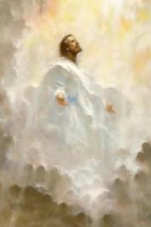 jesus look up to heaven in tears