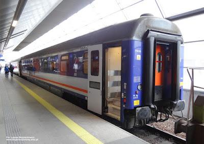 Wagon z miejscami do leżenia, PKP Intercity
