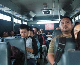 Interior bus anti peluru di papua