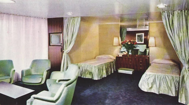 EUGENIO C. First Class suite
