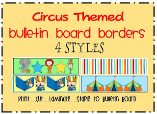 circus bulletin board borders