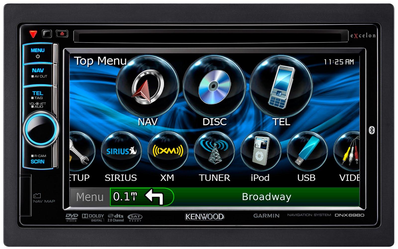 Dnx Basic Topmenu on Hd Radio Car Receiver