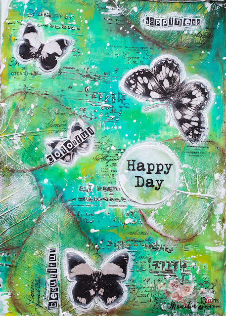 Art Journal Wiosna!/ Art Journal Spring!