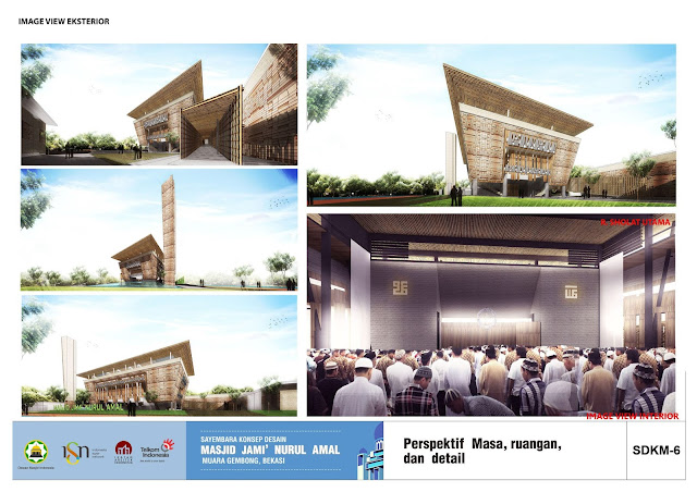 Pemenang Sayembara Desain Masjid Jami Nurul Amal