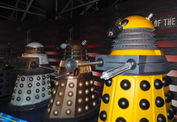 Daleks Doctor Who props