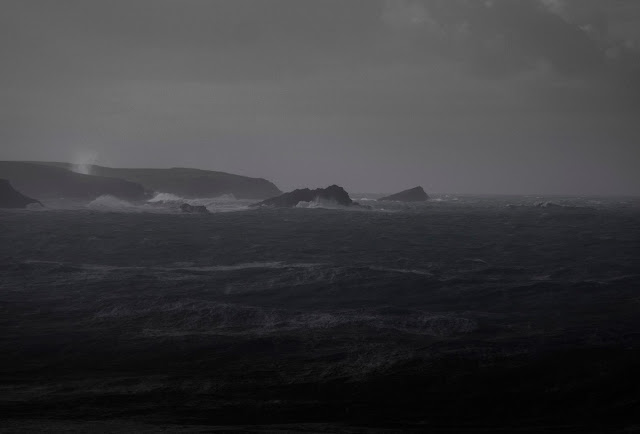 Cornwall Storm, Atlantic, Rough Sea