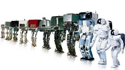 Evolución de los robots o humanoides