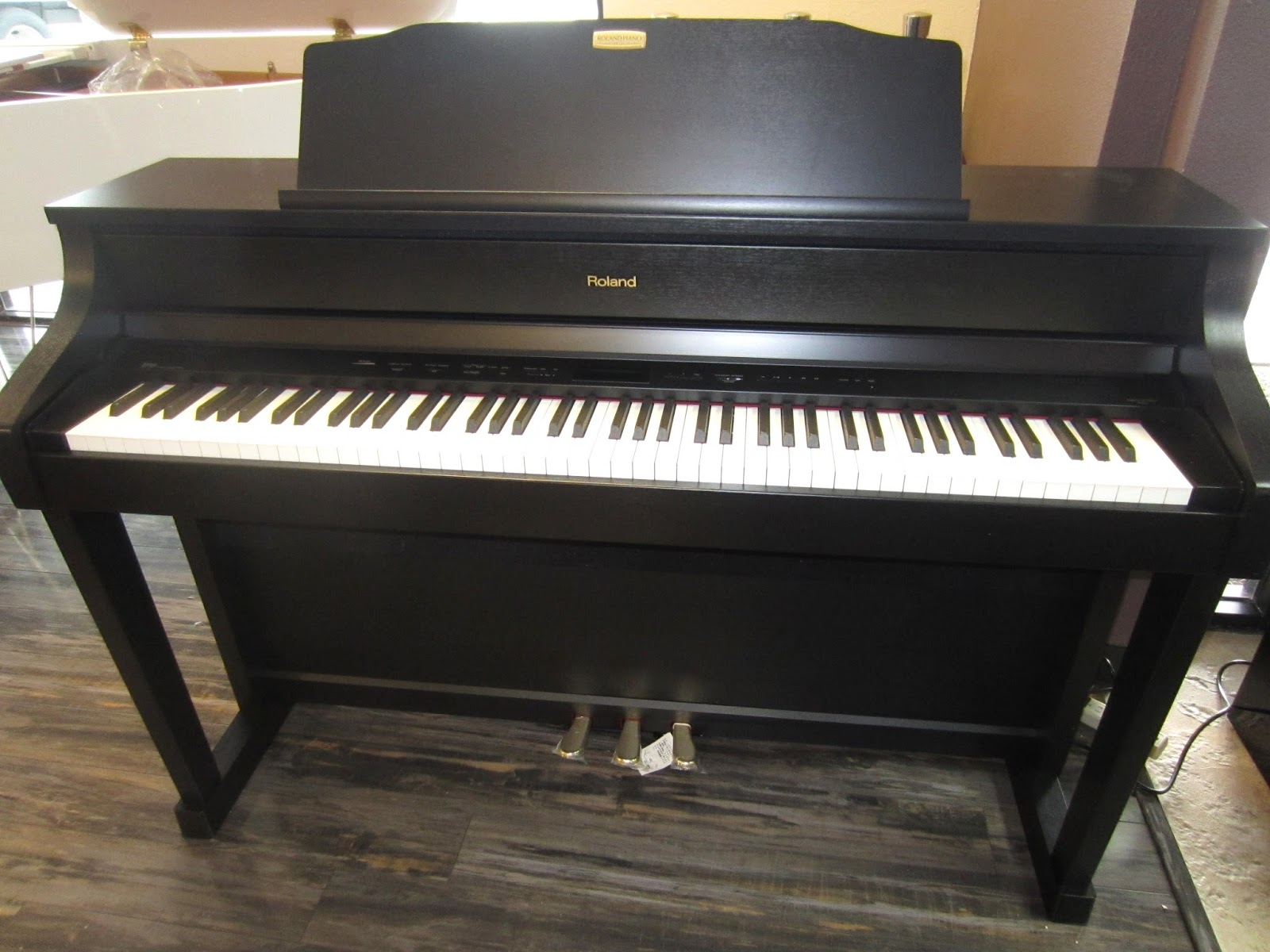 Black Yamaha Piano For Sale