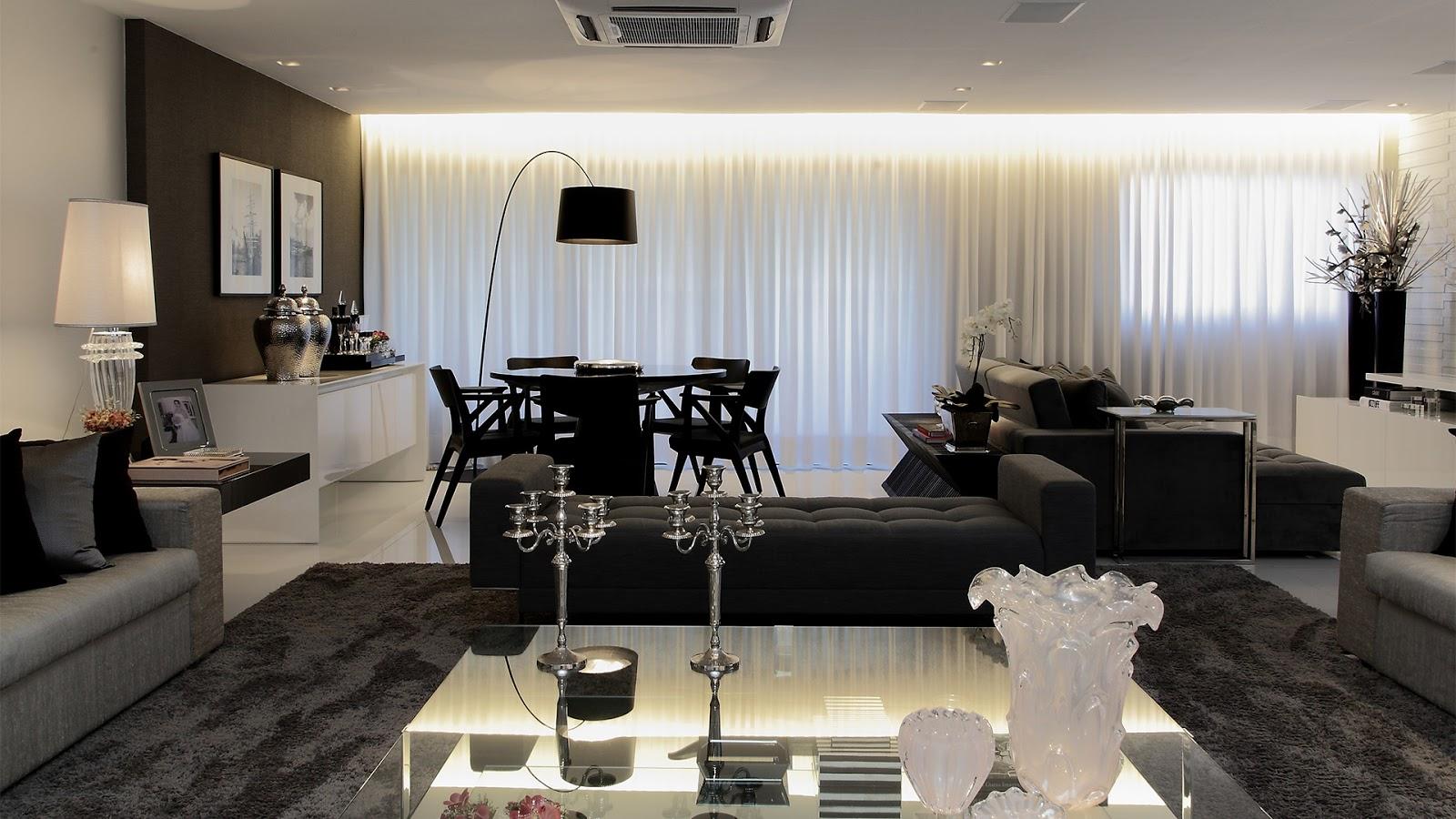 Sala De Estar Pequena Decorada Com Tv Living Room With Purple Rug  -> Sala De Estar Decorada Tok Stok