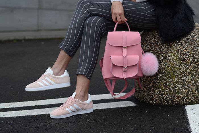 adidas gazzelle rosa