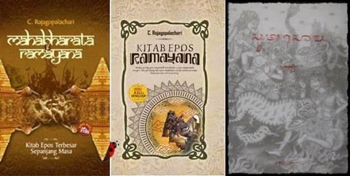 Gambar kitab-kitab kuno peninggalan sejarah Nusantara