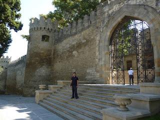 Muralla en Bakú