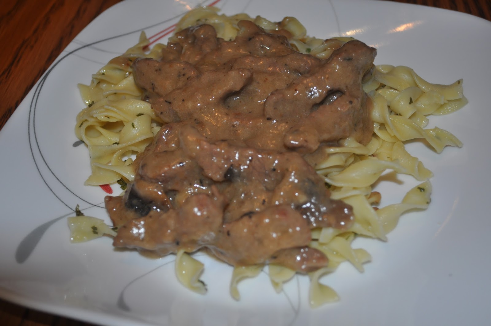 Beth's Favorite Recipes: Beef Stroganoff with Buttered Noodles