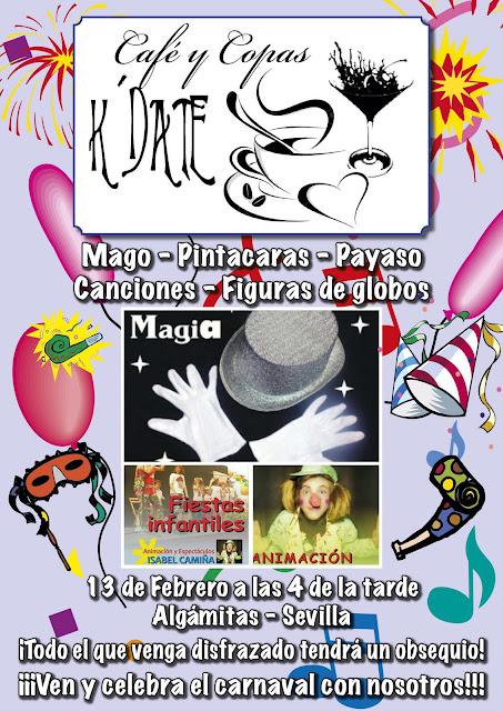 Cartel de actuación de Animación Isabel en Algámitas