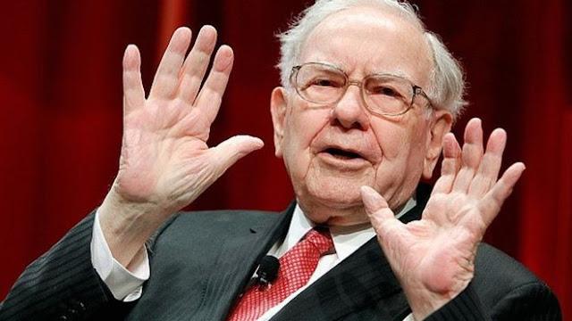 Warren Buffett comprou 1 bilhão em ações da Apple