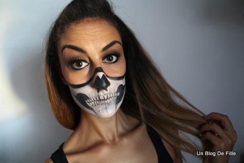 un blog de fille halloween makeup sexy skeleton. Black Bedroom Furniture Sets. Home Design Ideas