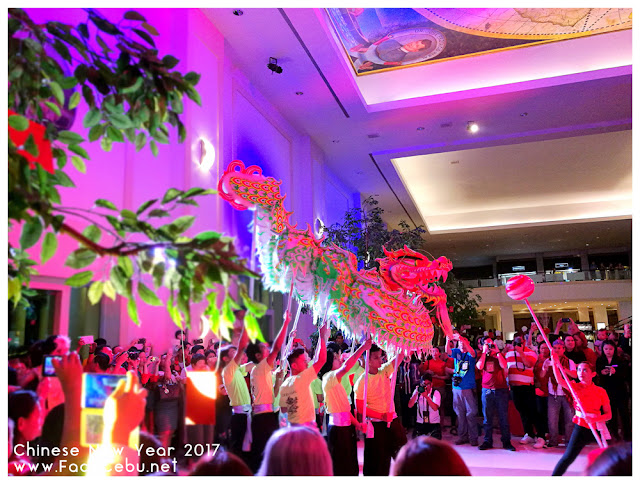 Dragon Dance in the lobby