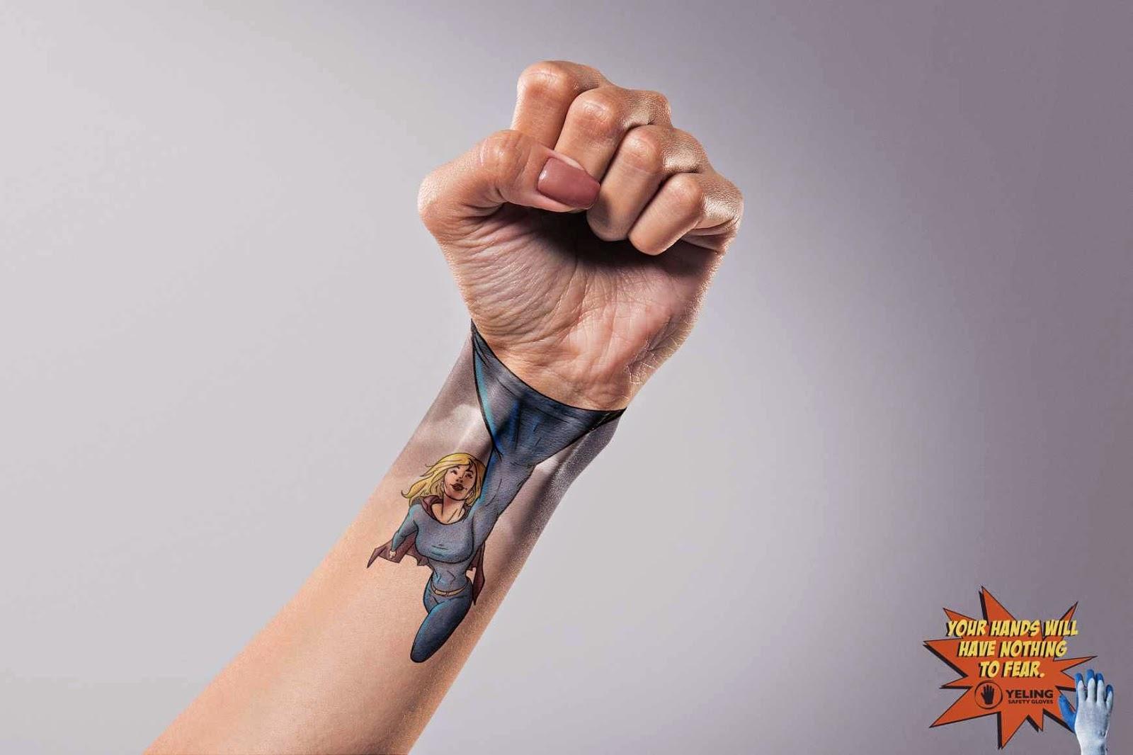 Publicidad y creatividad -advertising and creativity - Body paint