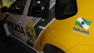 Pitanga: PM apreende veículo com 21 caixas de cigarro