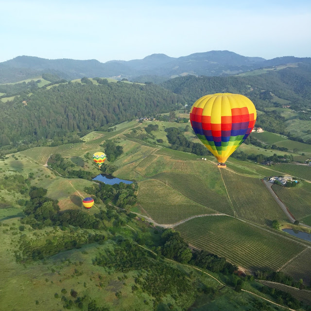 Sunrise Hot Air Balloon Ride Napa Valley California