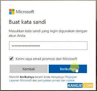 Cara Membuat Email Microsoft atau Microsoft Account