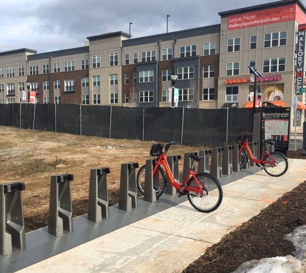 Mallory Square Apartments: Go Montgomery: New Bikeshare Station Installed At Mallory