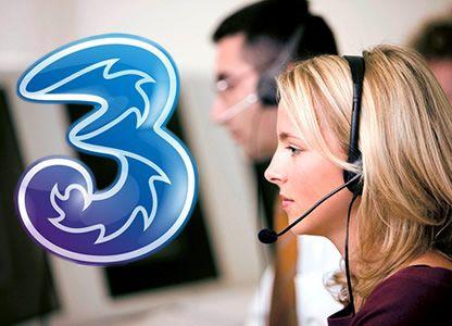 Come parlare con un operatore tre?
