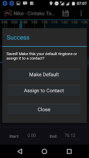 Ringdroid.apk Aplikasi Untuk Menjadikan MP3 Sebagai Default Ringtone 4
