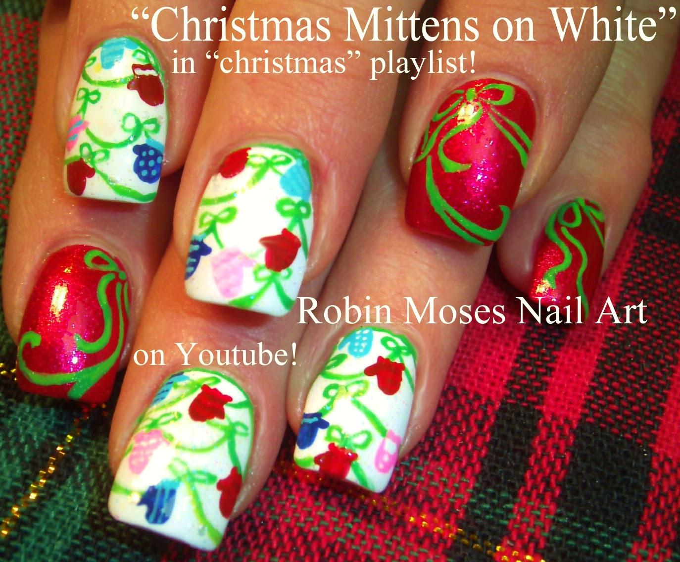 """Robin Moses Nail Art: """"christmas nails"""" """"xmas nails ..."""