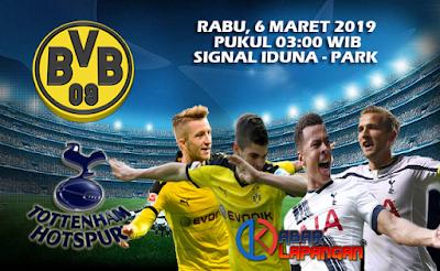 Prediksi Bola Borussia Dortmund vs Tottenham Hotspur 6 Maret 2019