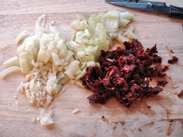 Sun Dried Tomato, Onion and Garlic