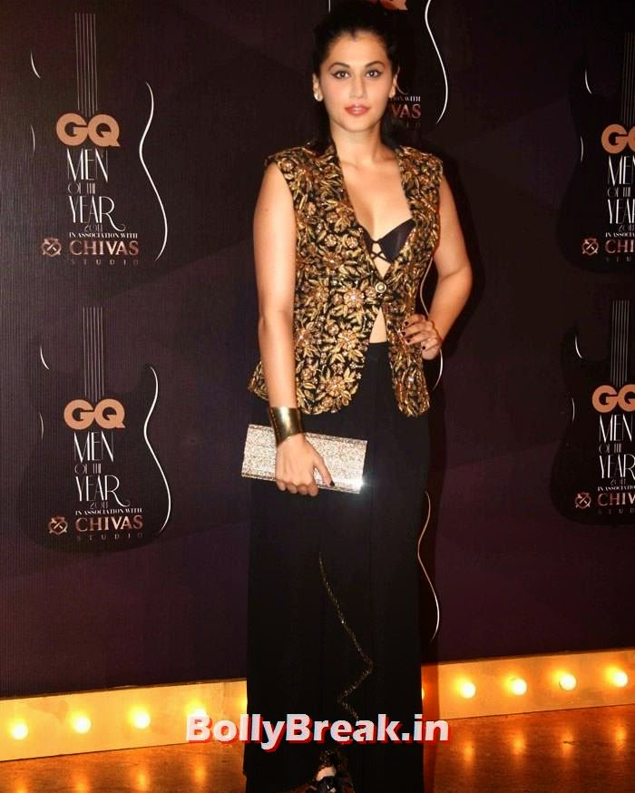 Taapsee Pannu, Red Carpet Pics of GQ Men Of The Year Awards 2014