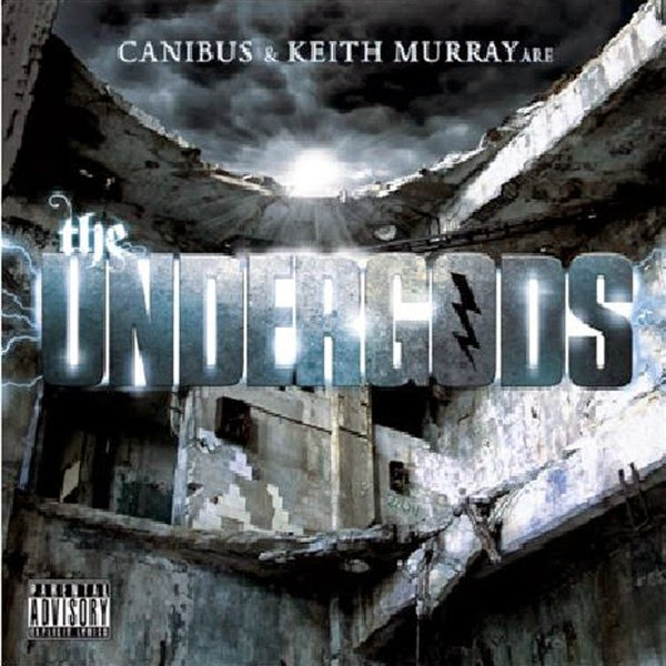 The Undergods - Canibus and Keith Murray Are the Undergods - EP Cover