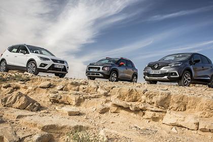 Citroën C3 Aircross VS Renault Captur VS Seat Arona: The battle of urban crossovers