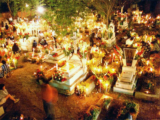 El Día De Muertos Es La Fiesta Favorita De Los Viajeros: El Trigo Ahogado: Orígen De Halloween, Dia De Los
