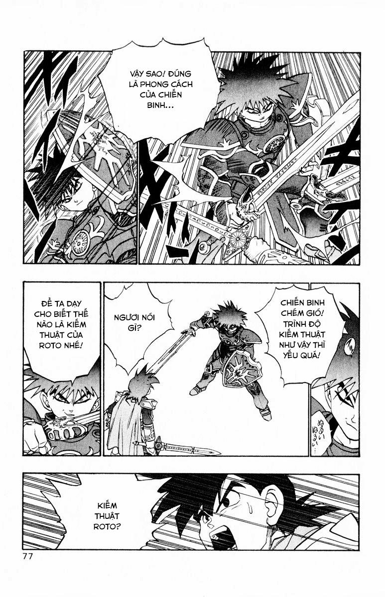 Dragon Quest: Emblem of Roto chap 35 trang 27