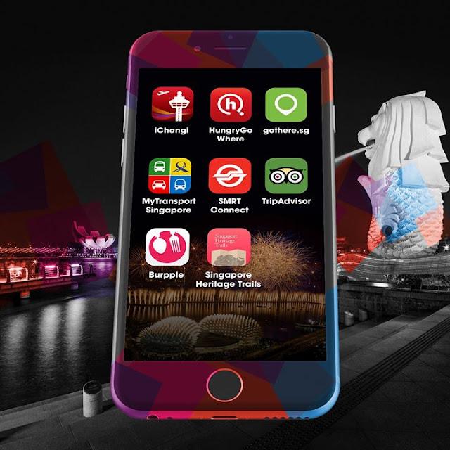 Những ứng dụng điện thoại hữu ích cho chuyến du lịch Singapore