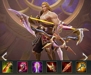 Build Item dan Arcana Yorn Arena of Valor (AOV) Serangan Mematikan