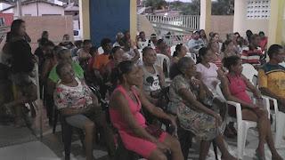 PP municipal realiza encontro com População do Bairro Limeira em Picuí