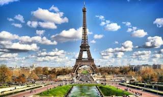 Gambar Menara Eifel, Paris, Prancis