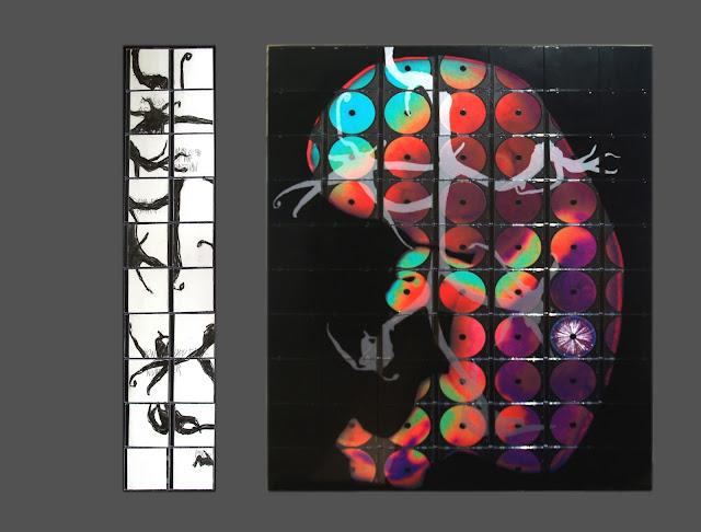 re.production - mixed media - Rosemary Marchetta
